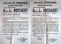 DSP. Annonce du décés d'0scar Bossaert. 1956.jpg