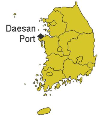 2007 South Korea oil spill - Daesan port, South Korea