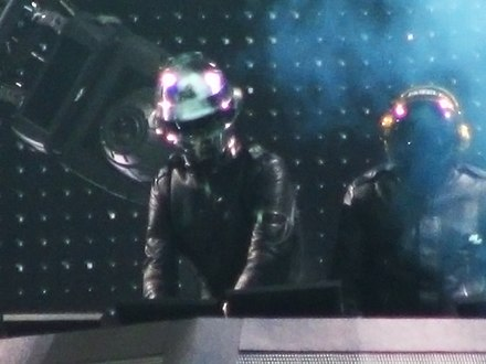 Daft Punk's performance at Coachella 2006 is frequently cited as one of the most memorable in the festival's history. Daft punk at coachella.jpg