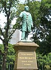 Bronze sculpture of William Bede Dalley in Hyde Park, Sydney