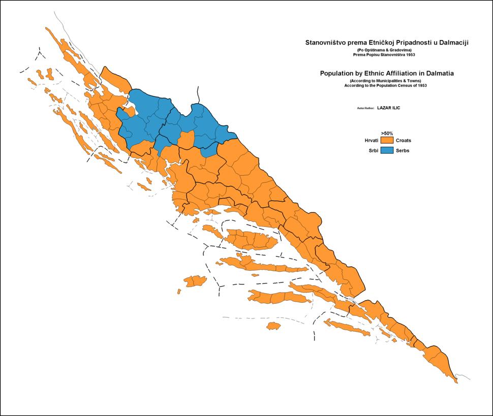 Dalmatia-1953-Ethnic