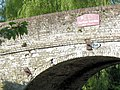 Damaged Brickwork on Bridge No 130, Grand Union Canal - geograph.org.uk - 1462969.jpg