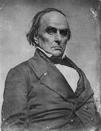 1852 Whig National Convention - Image: Daniel Webster