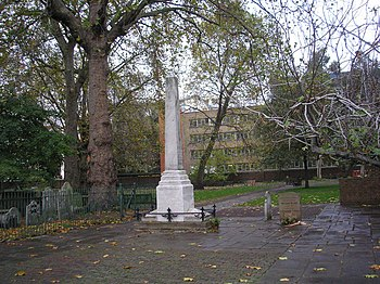 Daniel Defoe Memorial%2C Bunhill Fields - geograph.org.uk - 1036927