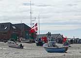 Danish flag in Nørre Vorupør.jpg