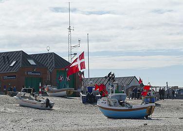 Danish flag in Nørre Vorupør.jpg