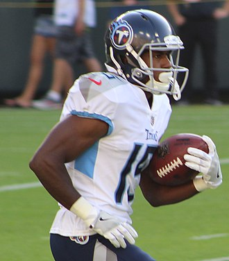 Darius Jennings - Jennings with the Tennessee Titans in 2018