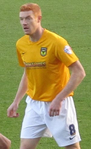 Dave Kitson - Kitson playing for Oxford United in December 2013