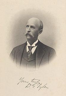 David Gardiner Tyler Confederate Army soldier