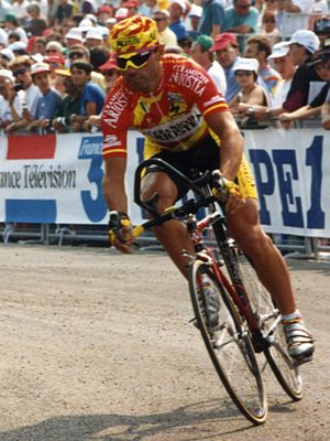 Davide Cassani - Cassani at the 1993 Tour de France