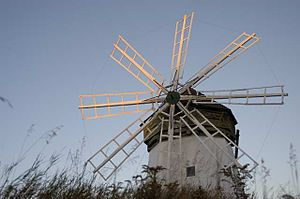 National Register of Historic Places listings in Douglas County, Wisconsin - Image: Davidson Windmill