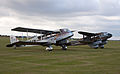 De Havilland DH 84 Dragon G-ECAN and DH 89A Dragon Rapide G-AGJG (5922589273).jpg