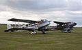 De Havilland DH 84 Dragon G-ECAN and DH 89A Dragon Rapide G-AGJG (5922589273).jpg