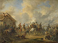 De Slag bij Bautersem, gedurende de Tiendaagse Veldtocht Rijksmuseum SK-A-3913.jpeg