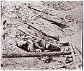 Dead Confederate Soldier at Fort Mahone, Petersburg MET DP70469.jpg