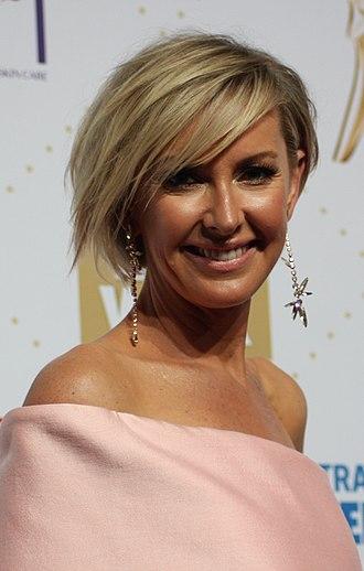 Deborah Knight - Deborah Knight at the 58th Logie Awards