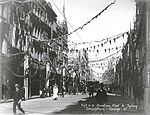 Decorations for the Great White Fleet Visit (2742077721).jpg