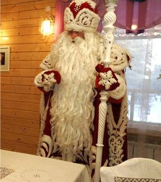 Ded Moroz - Ded Moroz in Veliky Ustyug, Russia