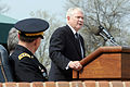 Defense.gov News Photo 110411-D-XH843-009 - Secretary of Defense Robert M. Gates addresses the audience during an arrival and swearing-in ceremony for Gen. Martin E. Dempsey at Fort Myer.jpg