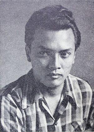 Darah dan Doa - Del Juzar in 1953; he was cast in the lead role of Sudarto.