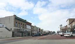 Delavan Wisconsin Downtown Looking West 2 US14.jpg