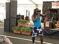 Derek Sandy performing at Yarmouth Old Gaffers Festival 2012 7.JPG