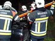 Extraction d'une victime en Belgique