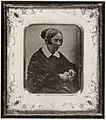 Deutscher Photograph um 1845 - Porträt der Dichterin Annette von Droste-Hülshoff (Zeno Fotografie).jpg