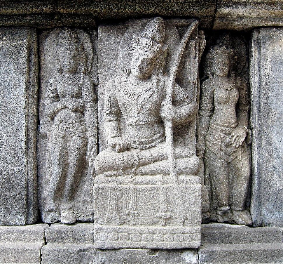 Devata and Apsaras Prambanan 05