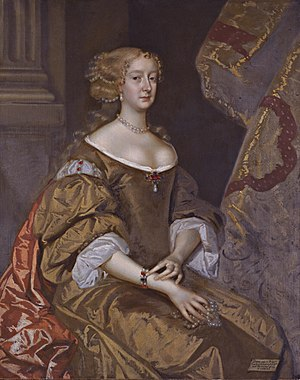 Robert Bruce, 1st Earl of Ailesbury - Diana Grey, Countess of Ailesbury, by Henri Gascar