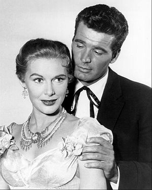 Diane Brewster - With James Garner in Maverick (1957)