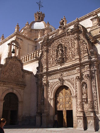 Cathedral of Chihuahua - South Transept and Blessed Sacrament Chapel.