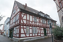 Pfarrgasse in Dieburg