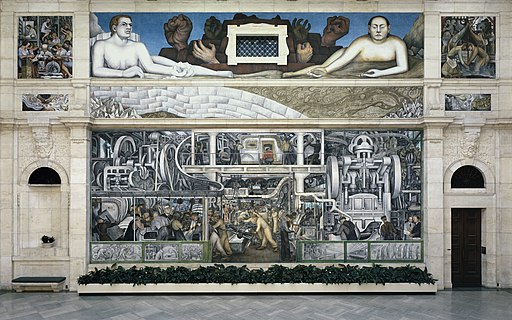 """Detroit Industry Murals"" by Diego Rivera"