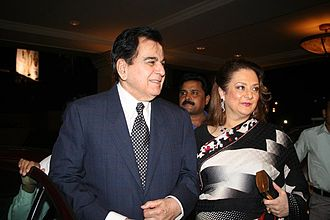 Dilip Kumar - Kumar with Saira Banu in recent years
