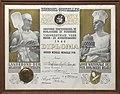 Diploma Inghelram, Onbekend, Bakkerijmuseum Veurne, Diploma, 12398.jpg