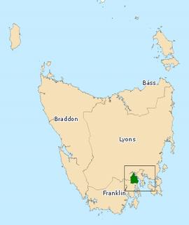 Division of Clark (state) state electoral division of Tasmania, Australia
