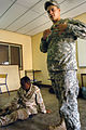 Djibouti U.S. Army Africa Soldiers offer first responder course 090806 (3819691315).jpg