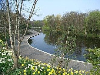 Dodder Park - Dodder Park Pond