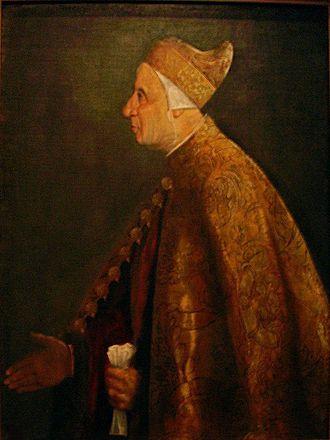 Nicolò Marcello - Portrait of Nicolo Marcello by Titian