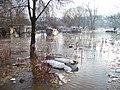 Dolní Černošice, zatopené tábořiště.jpg