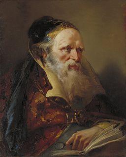 Domenico Tiepolo - Head of a Philosopher - 16.1 - Minneapolis Institute of Arts