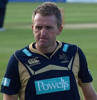 Dominic Cork Cricket player of England.