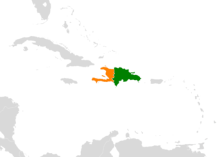 Diplomatic relations between the Dominican Republic and the Republic of Haiti