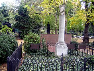 Dorotheenstadt Cemetery - Gravesites in the cemetery