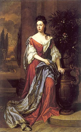 Sir William Brownlow, 4th Baronet - William Brownlow's first wife, Dorothy Mason, died in 1700.