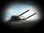 Dorsal gun turret on the Andrew Mynarski Memorial Lancaster Flickr 4841121580.jpg