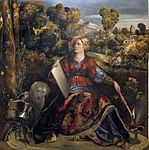 Melissa by Dosso Dossi. c. 1507