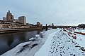 Downtown St. Paul Minnesota Winter Riverfront (26438720548).jpg