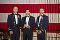 Dr. Mark T. Esper, 23rd Secretary of the Army with MG Walker and BG Dean.jpg